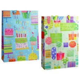 144 Units of Gift Bag Xl 30x10.5x38.5cm H'd - Gift Bags