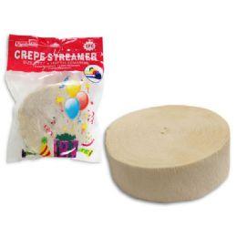 96 Units of Streamer Pure White 1 Piece - Streamers & Confetti