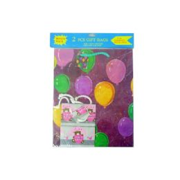 """96 Units of Paper Bag 2pc10x13&4x5""""everyday Dsn - Gift Bags Assorted"""