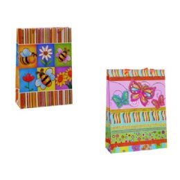 144 Units of Gift Bag 32 X 25x10cm Butterfl - Gift Bags