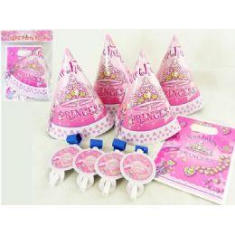 144 Units of Party Set 12pc Princess Design - Party Favors