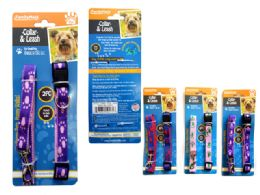 144 Units of 2 Piece Pet Collar & Leash Set - Pet Collars and Leashes