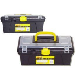 48 Units of Black Tool Box - Tool Sets