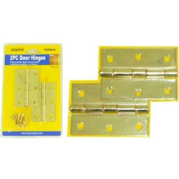 """96 Units of Door Hinges 2pc 3"""" 1.66mm - Hardware Miscellaneous"""