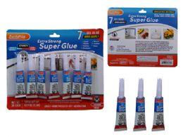 144 Bulk 7 Pc Super Glue