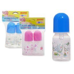72 Units of Baby Bottle - 4 oz - Baby Bottles