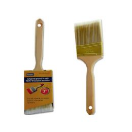 "144 Units of Paint Brush Angle Wood 3"" - Hardware Miscellaneous"