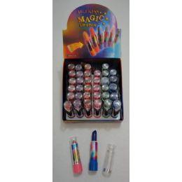 36 of Color Change Lip Sticks