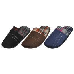 36 Units of Mens Fashion House Slipper - Men's Slippers