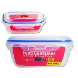 72 Bulk Rectangle Food Container