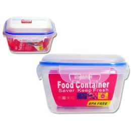 72 Units of Square Storage Food Container - Food Storage Containers