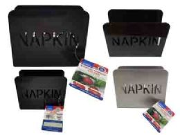 96 Units of Metal Napkin Holder - Napkin and Paper Towel Holders
