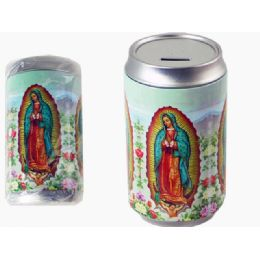 48 Units of Guadalupe Saving Bank Tin - Coin Holders & Banks
