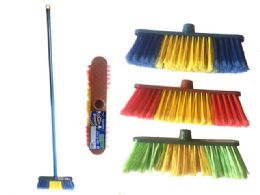 48 Units of Multipurpose Rainbow Broom - Cleaning Products