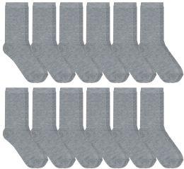 Wholesale Yacht & Smith Womens Thin Gray Dress Sock, Cotton, Sock Size 9-11