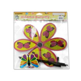 96 Units of Windmill Butterfly - Wind Spinners