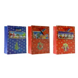 96 Units of Christmas Large Sized Gift Bag - Christmas Gift Bags and Boxes