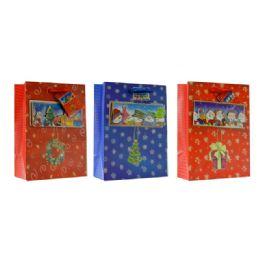 108 Units of Christmas Xlarge Size Gift Bag - Christmas Gift Bags and Boxes