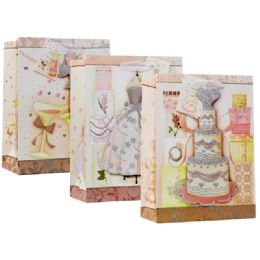 144 Units of Bag Xxlarge Assorted Design - Gift Bags Assorted