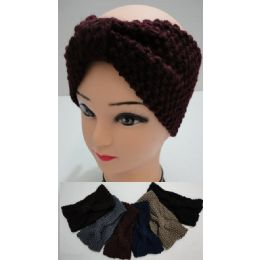 48 Units of Hand Knitted Ear Band [loose Knit] Loop - Ear Warmers