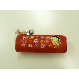 108 Wholesale Round Pencil Bag Betty