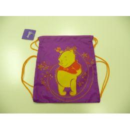 60 Units of Licensed Backbag With String Winnie - Licensed Backpacks