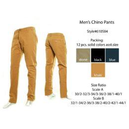 12 Units of Mens Chino Pants - Mens Pants