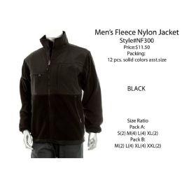12 of Mens Fleece Nylon Jacket