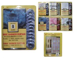 24 Bulk Shower Curtain