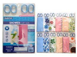 72 Bulk 2 Piece Shower Curtain