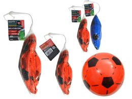 144 Units of Inflatable Soccer Ball - Balls