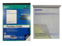 72 Units of Purchase Order Book - Sales Order Book