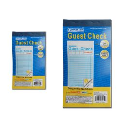 96 Units of Guest Check Book - Sales Order Book