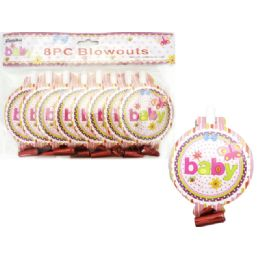 144 Units of Blowout 8 Piece - Baby Shower
