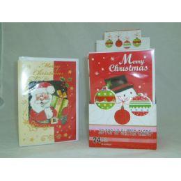 96 Units of Disp Box 3d Xmas Cards Description Disp Box 3d Xmas Cards - Christmas Cards