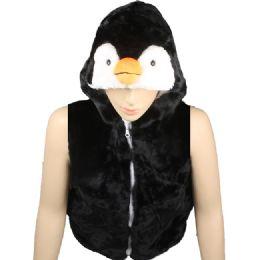 12 Units of Kids Cute Penguin Animal Vest With Penguin Hat - Kids Vest