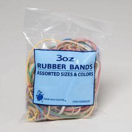 72 Bulk Rubber Bands 3oz Bag