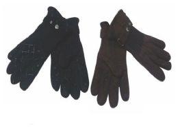 72 of Mens Fleece Winter Gloves Dark Colors