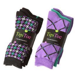 180 of Tipi Toe Women's Crew Socks