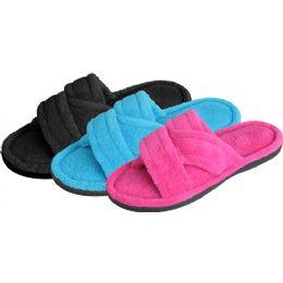 36 Units of Women's Plush Slipper - Women's Slippers
