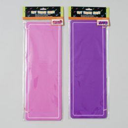 96 Units of Foam Sign Diy 15.5 X 5.5in 2 Shape/2 Colors Gov Craft Pbh - Foam & Felt