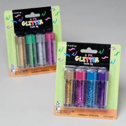 144 Units of Glitter Pastel Colors - Craft Glue & Glitter