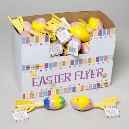 96 of Foam Flyer Easter Egg/bunny/ Chick Embossed