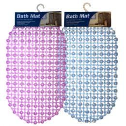 36 Units of Bath Mat Dots Solid - Bath Mats
