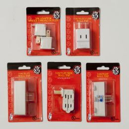 120 Units of Wall Tap Adaptor - Electrical