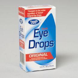 96 of Eye Drops .5 Oz Original