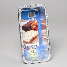 12 Units of Aluminum Loaf Pan 3 Pack - Aluminum Pans