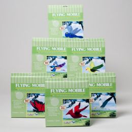 36 Units of Outdoor Mobile 6ast Flying Birds/bugs Color Boxed Peggable Gov Logo - Garden Tools