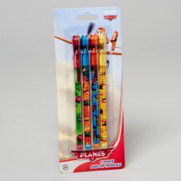 96 Bulk Pencils 4 Pk Pop Up Disney Planes