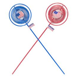 72 Units of Patriotic Wind Spinner - Wind Spinners